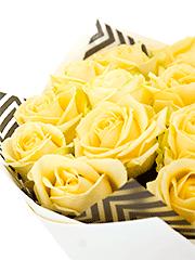 Букеты из чайных роз