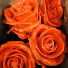 Роза Вакс рыжая