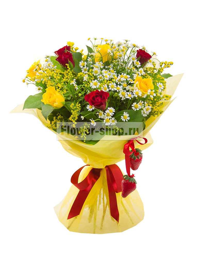 Оформление букет цветов своими руками