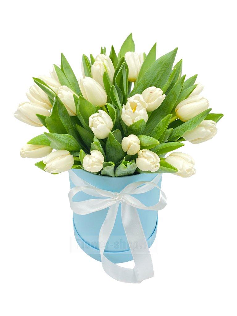 Свадебный букет из белых тюльпанов купить, сколько стоит сделать букет