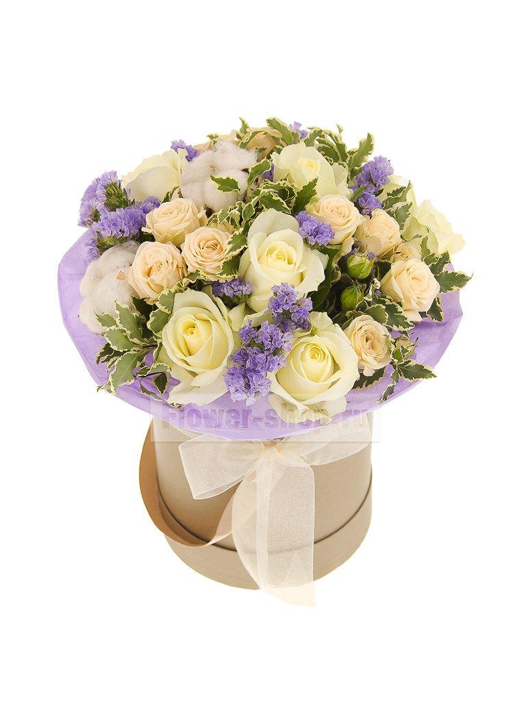 Букеты с хлопком купить в москве, доставка цветов подарков ташкенте