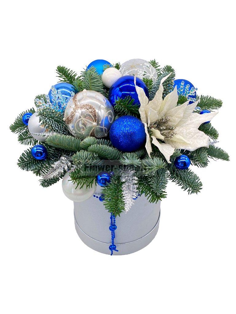 Новогодние цветы купить москва — pic 2