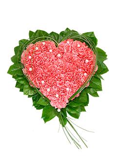 Композиция «Розовое сердце» - заказ и доставка цветов от Flower-shop.ru