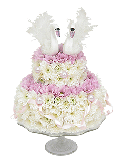 Композиция «Свадебный торт» - доставка цветов от Flower-shop.ru