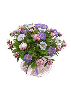 "Букет ""Летняя веранда"" каталога Flower-shop.ru"