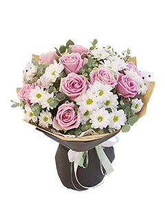 На комсомольской цветы