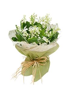 С чем сочетаются ландыши в букете, букет цветы из синие розы спб
