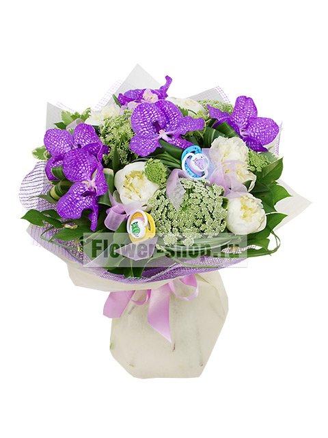 Доставка цветов москва симферополь подарок на 8е марта семи летней девочке