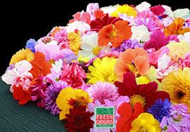 Для американцев цветы — это не только красиво, но еще и вкусно