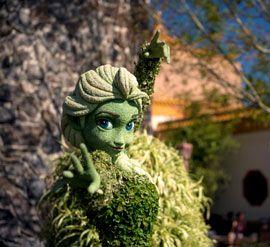 Знаменитое цветочное шоу в парке Эпкот приобретает новый размах