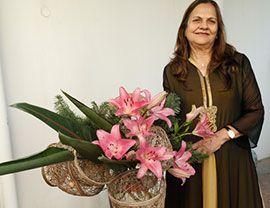 В Омане открылась выставка икебаны