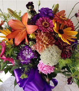 Американские флористы отдают предпочтение местным цветам