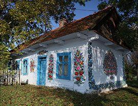 Цветочная роспись принесла польской деревеньке мировую славу